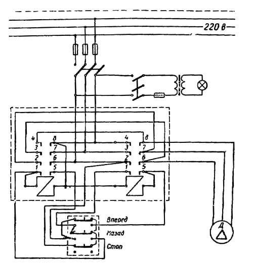 Электросхема токарного станка тв-4