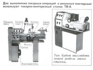 характеристики станка тв-4