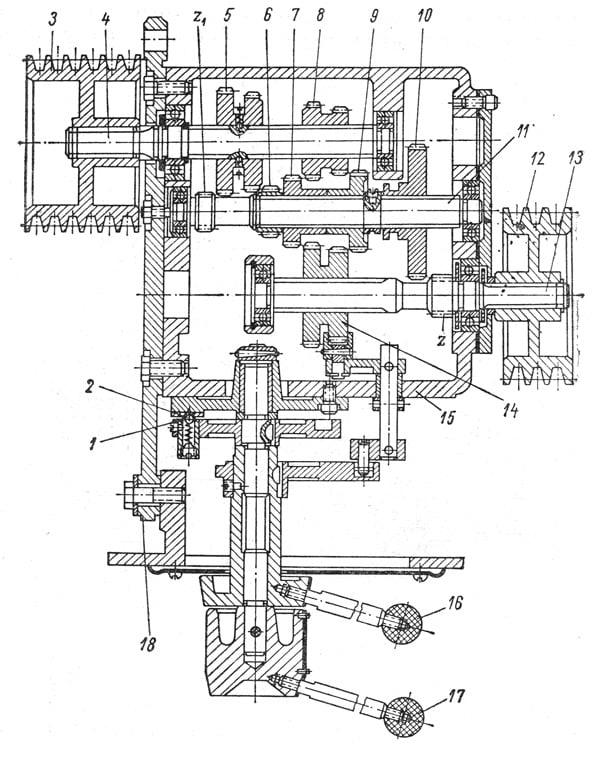 Конструкция коробки передач