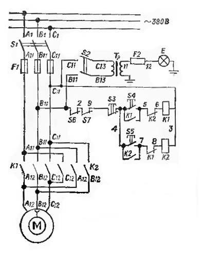 электросхема tv6