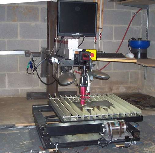 Самодельный фрезерный станок по металлу с ЧПУ